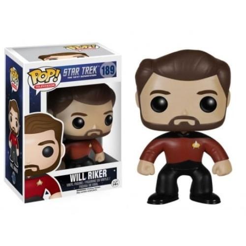 Star Trek Will Riker POP! 10 cm ( Funko )