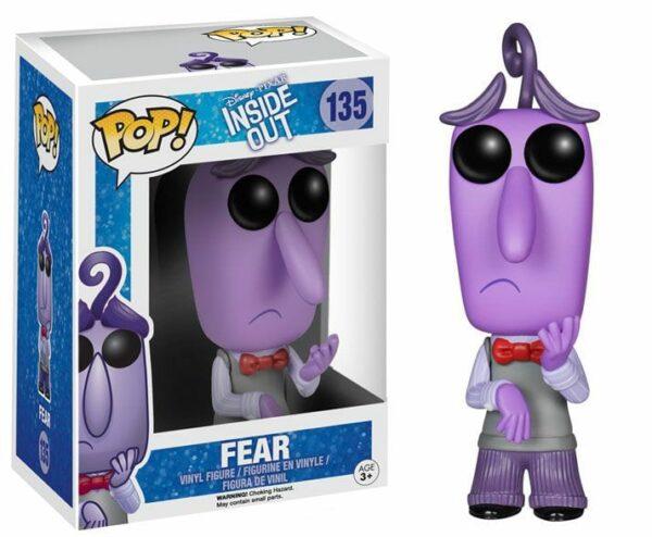 Disney Inside Out POP! Vinyl Figure Fear Paura 9 cm ( Funko )