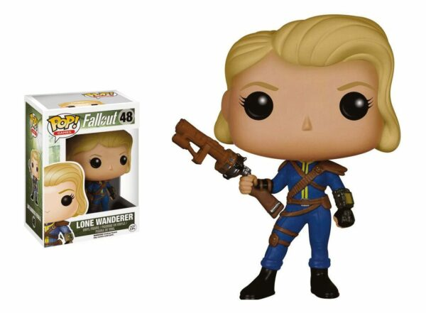 Fallout POP! Games Vinyl Figure Lone Wanderer Female 9 cm ( Funko )
