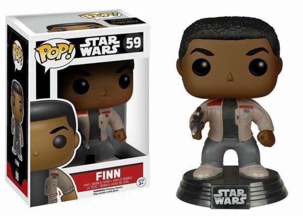 Star Wars Episode VII POP! Vinyl Bobble-Head Finn 10 cm ( Funko )