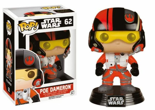 Star Wars Episode VII POP! Vinyl Bobble-Head Poe Dameron 10 cm ( Funko )