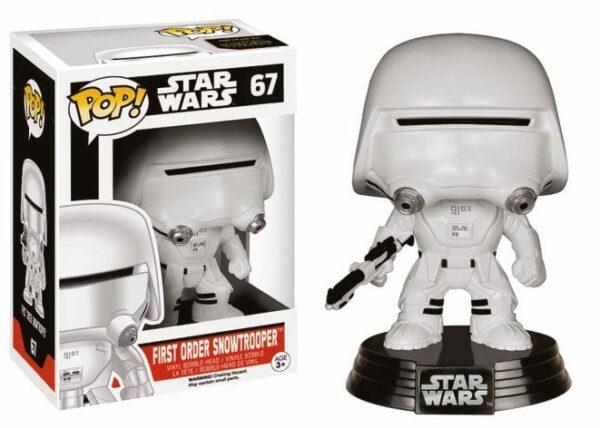 Star Wars Episode VII POP! Vinyl Bobble-Head First Order Snowtrooper 10 cm ( Funko )