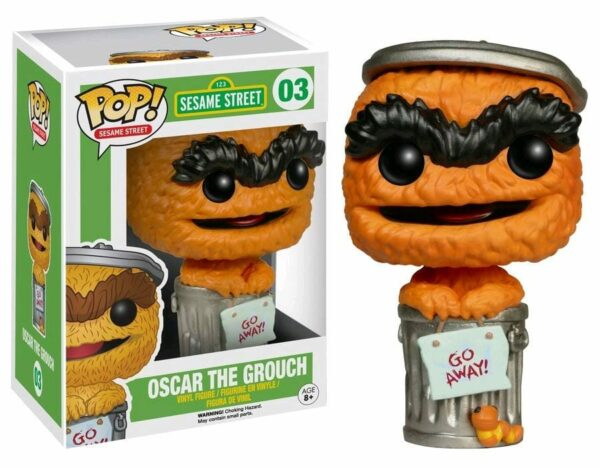 Sesame Street POP! TV Vinyl Figure Oscar Orange Limited Edition 9 cm ( Funko )
