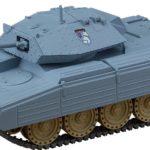 Girls und Panzer das Finale Nendoroid More Vehicle Crusader Mk. III 16 cm ( Good Smile Company )
