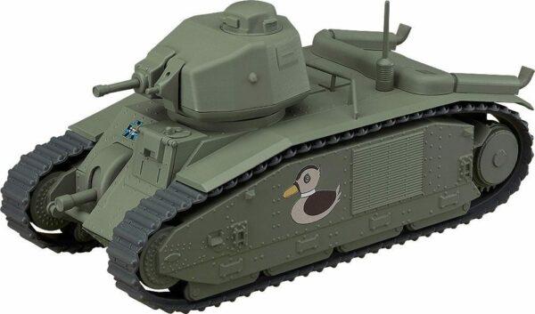 Girls und Panzer das Finale Nendoroid More Vehicle Char B1 bis 17 cm ( Good Smile Company )