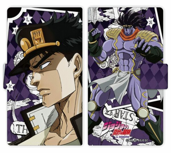 JoJo's Bizarre Adventure Book Type iPhone Case 1 Jotaro ( VOXPOP )
