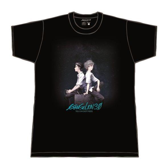 Neon Genesis Evangelion 3.0 T-Shirt Maglietta Otaku Kaworu and Shinji – L