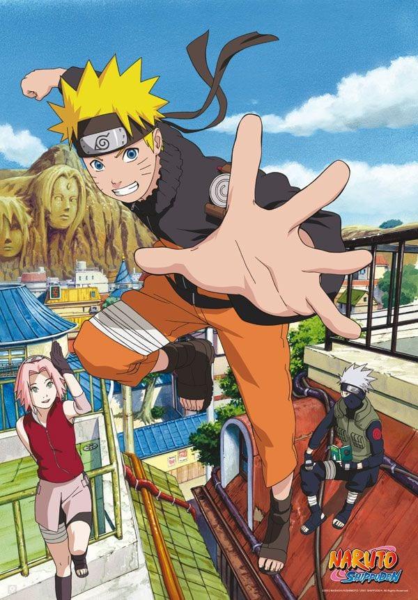 Naruto Poster (98X68 ) Konoha