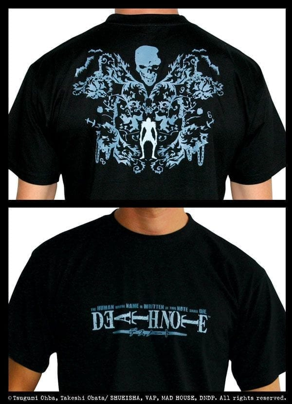 Death Note T-Shirt Death Note Ryuk Gothic – L