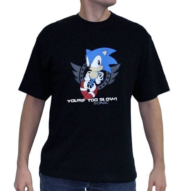 Sonic Tshirt Too Slow Uomo taglia M ( Abystyle )