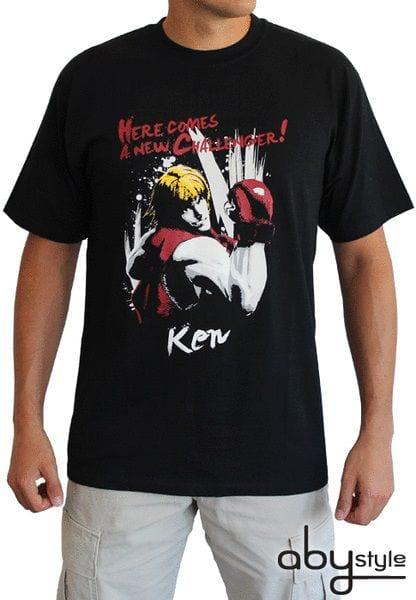STREET FIGHTER – Tshirt Ken man SS black – basic – S