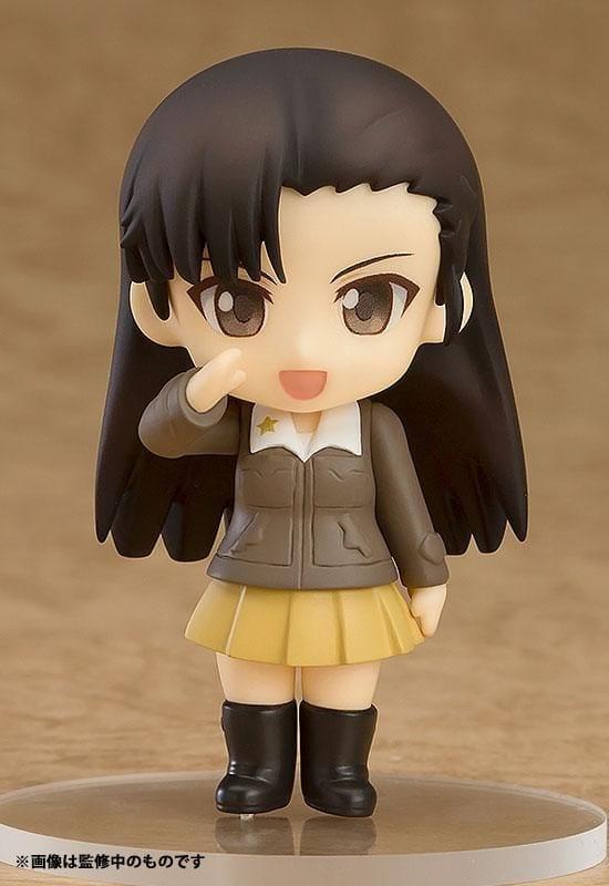 Girls und Panzer Mini Figures Nendoroid Petite 02  Kinuyo Nishi 7 cm ( Good Smile Company )