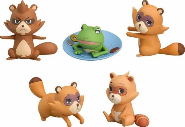 Uchouten Kazoku The Eccentric Family 2 Mini Collectible Figures 5-Set 5 cm ( Good Smile Company )