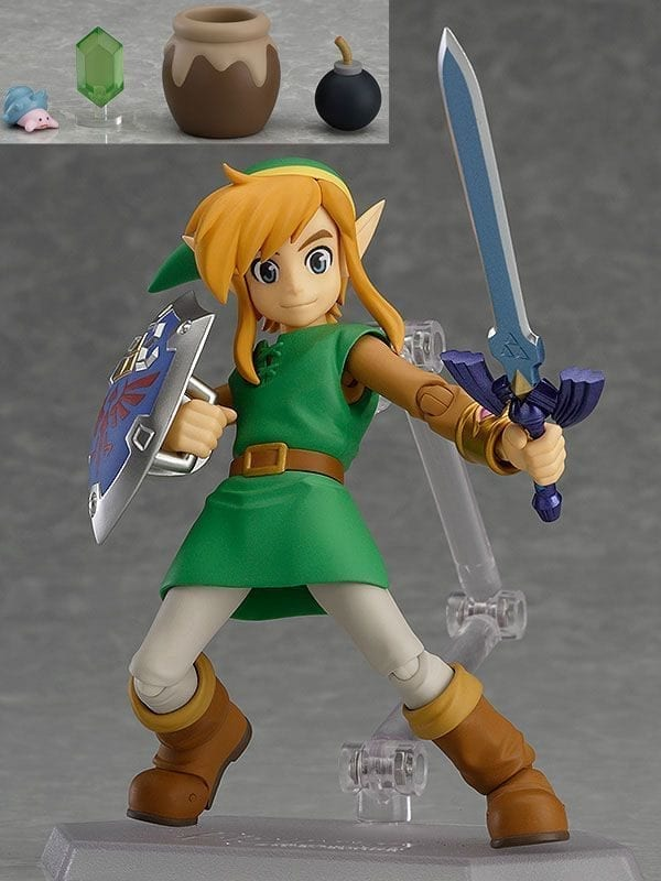The Legend of Zelda A Link Between Worlds Figma Action Figure Link DX Edition 11 cm ( Good Smile Company )
