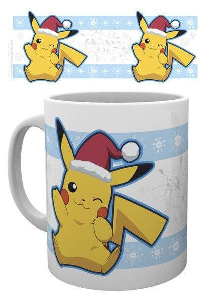 Pokemon Mug Pikachu Santa ( GYE )