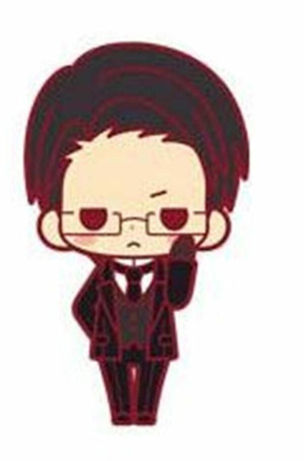 Black Butler Rubber Charms 5 cm Renewal Ver. William T. Spears ( Kotobukiya )
