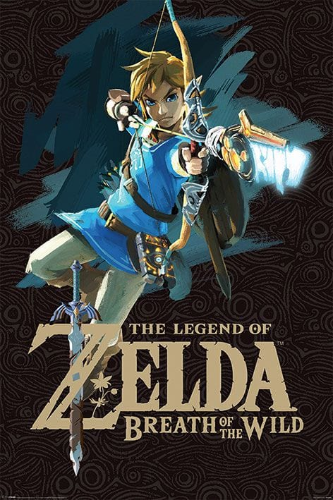 Legend of Zelda Breath of the Wild Poster Game Cover 61 x 91 cm ( Pyramid International )
