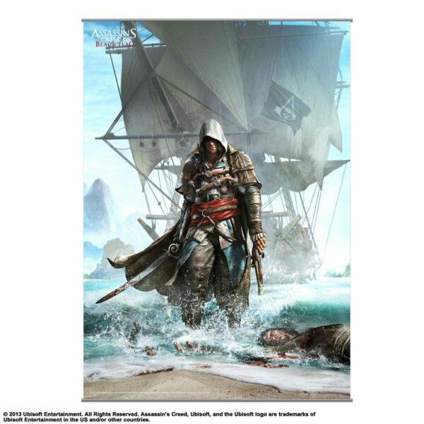Assassin'S Creed Iv Black Flag Wallscroll Vol. 1 105 X 77 Cm ( Square – Enix )