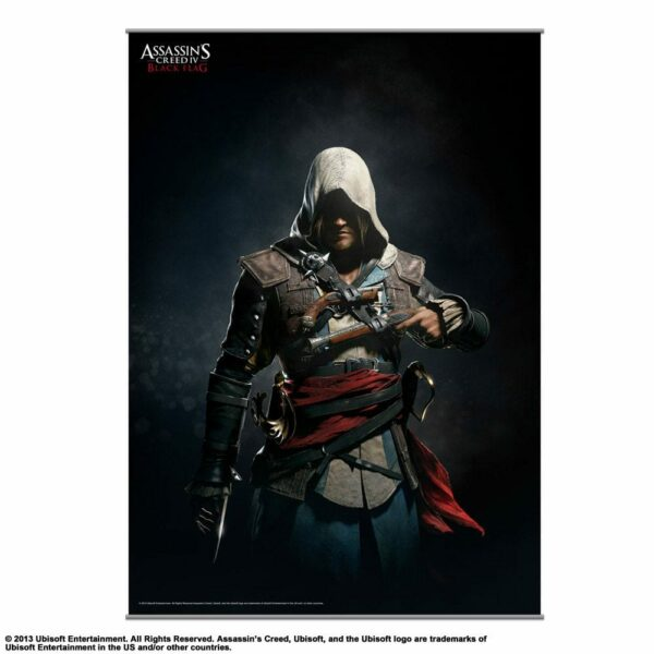 Assassin«S Creed Iv Black Flag Wallscroll Vol. 2 105 X 77 Cm ( Square – Enix )
