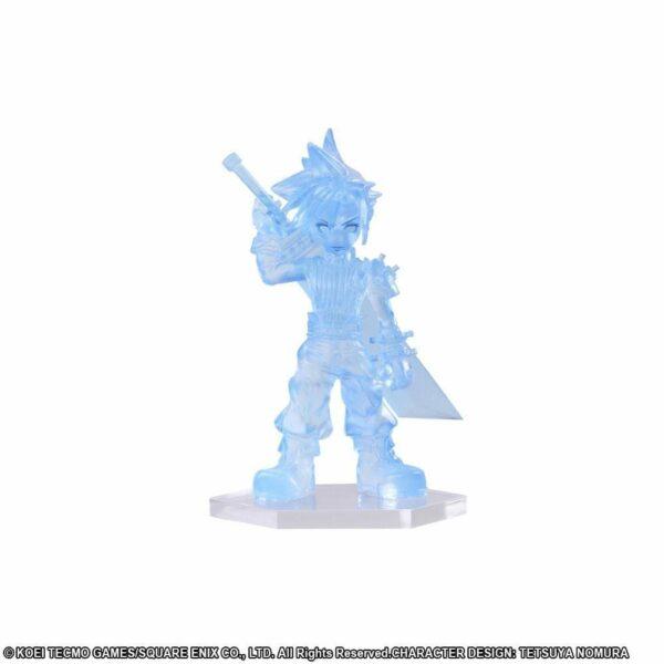 Dissidia Final Fantasy Opera Omnia Trading Arts Mini Figures Cloud Clear 5 cm ( Square – Enix )