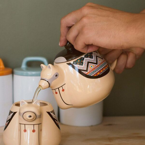 Llama Teapot ( Thumbs Up)