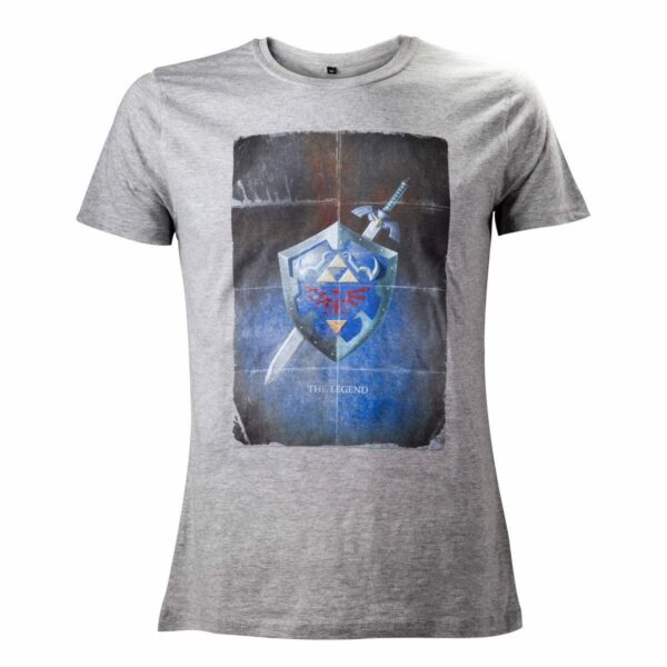 The Legend of Zelda T-Shirt Shield Size L  ( Bioworld Merchandising )
