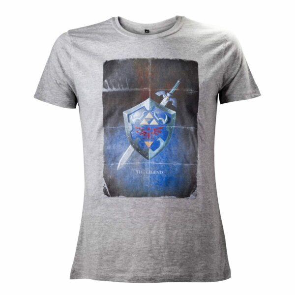 The Legend of Zelda T-Shirt Shield Size M  ( Bioworld Merchandising )