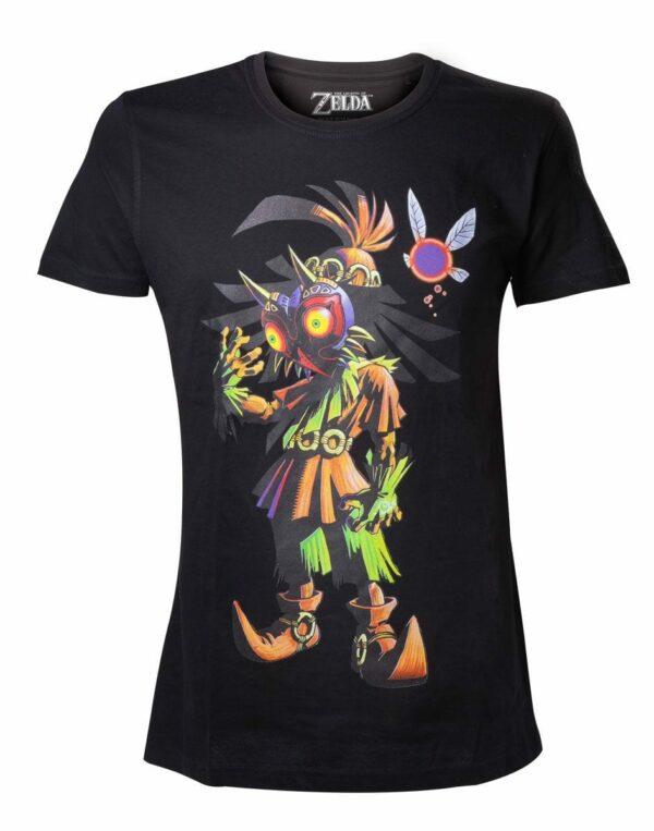 The Legend of Zelda T-Shirt Majora's Mask Size L ( Bioworld Merchandising )