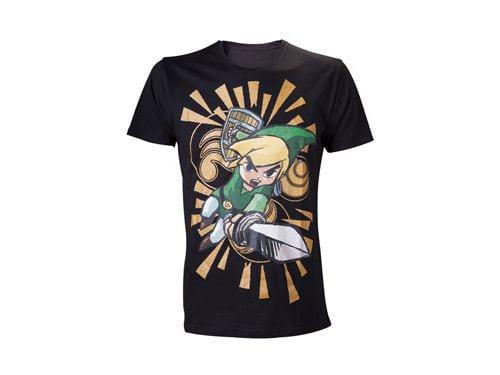 The Legend of Zelda T-Shirt Wind Waker Size XL ( Bioworld Merchandising )