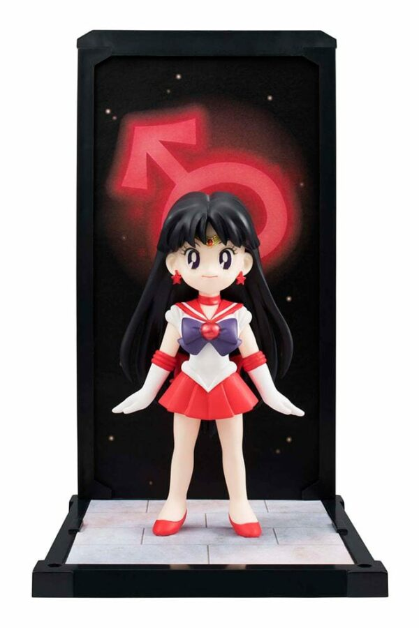Sailor Moon Buddies PVC Statue Sailor Mars Action Figure 9 cm ( Bandai )