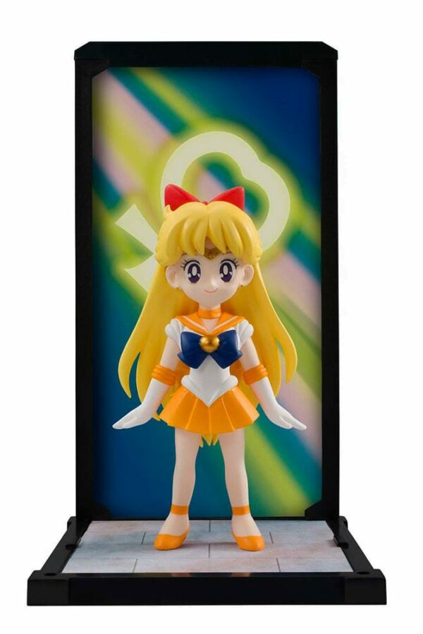 Sailor Moon Buddies PVC Statue Sailor Venus Action Figure 9 cm ( Bandai )