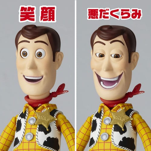 Legacy Of Revoltech Toy Story Woody Action Figure 15 cm ( Kaiyodo Jap )