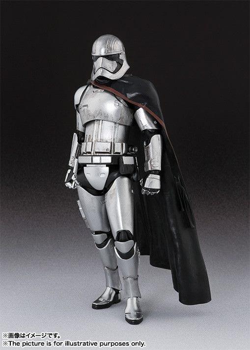Star Wars Action Figures PVC S.h. Figuarts Captain Phasma 16 cm ( Bandai )