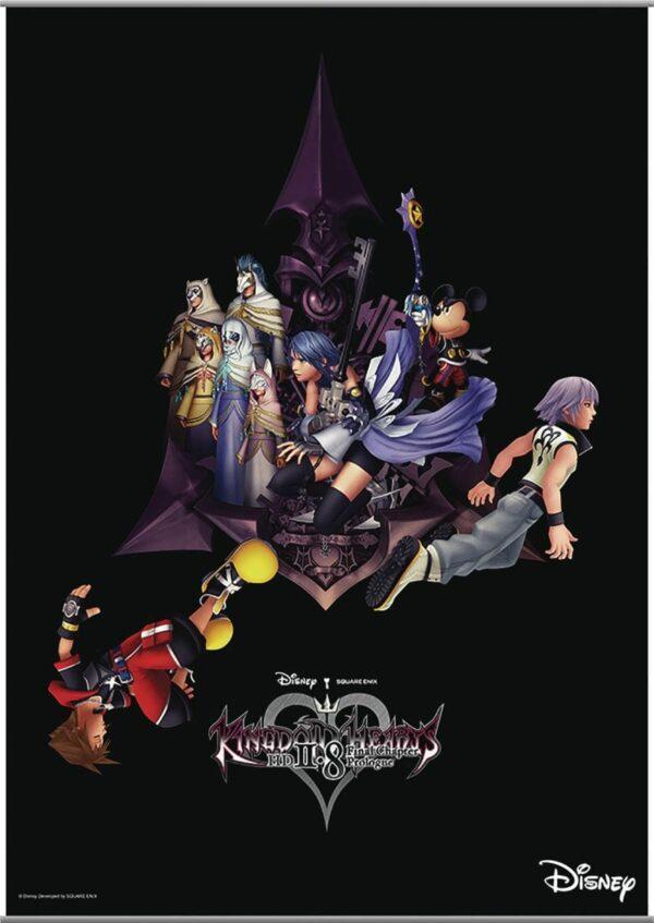 Kingdom Hearts II-8 Wallscroll in Tela 770? 1050 mm ( Square – Enix )
