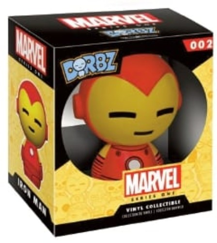 Vinyl Sugar: Dorbz Marvel Series 1  Iron Man ( Funko )