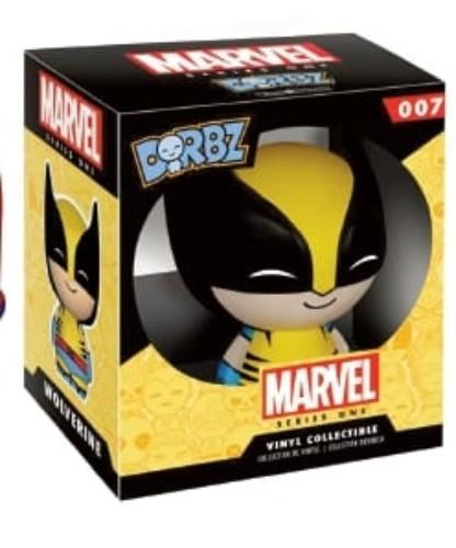 Vinyl Sugar: Dorbz Marvel Series 1  Wolverine ( Funko )