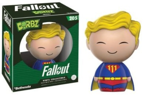 Dorbz: Fallout Toughness Vault Boy #205 ( Funko )