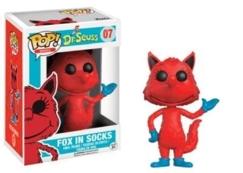 Pop! Books: Dr. Seuss Fox In Socks #07 ( Funko )