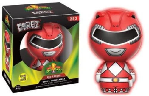Dorbz: Power Rangers Gitd Limited Red Ranger  #253 ( Funko )