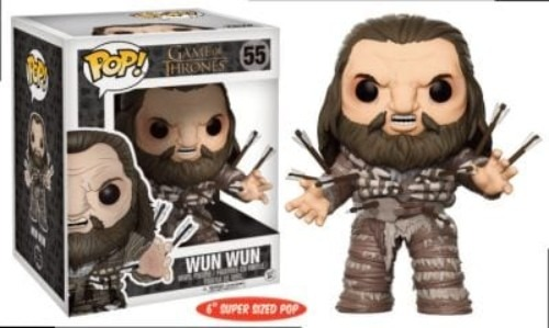 Pop! Television: Game Of Thrones Wun Wun 6Ó Oversized Pop #55 Cancelled ( Funko )