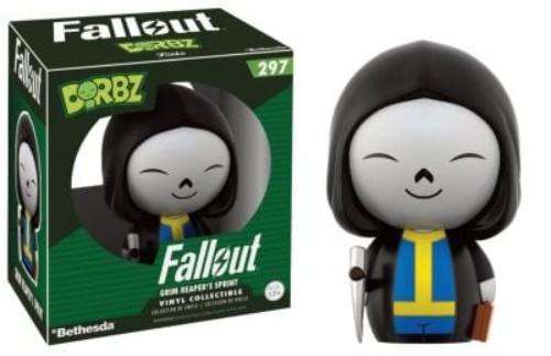 Dorbz: Fallout  Vault Boy Variants Grim Reaper Vault Boy #297 ( Funko )