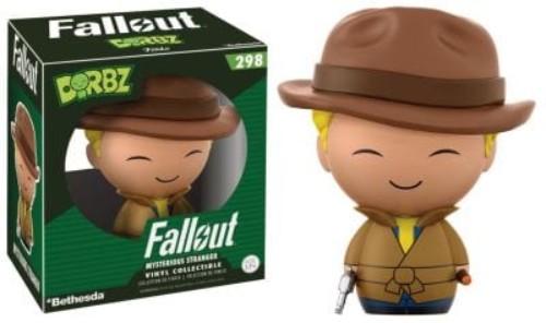 Dorbz: Fallout  Vault Boy Variants Mysterious Stranger Vault Boy #298 ( Funko )