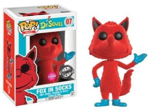 Pop! Dr. Seuss Fox In Socks – Flocked #07 ( Funko )