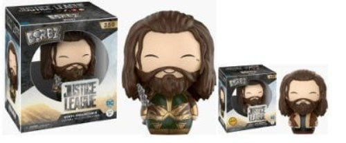 Dorbz: Justice League Aquaman Armoured W/Chase #350 Cancelled ( Funko )