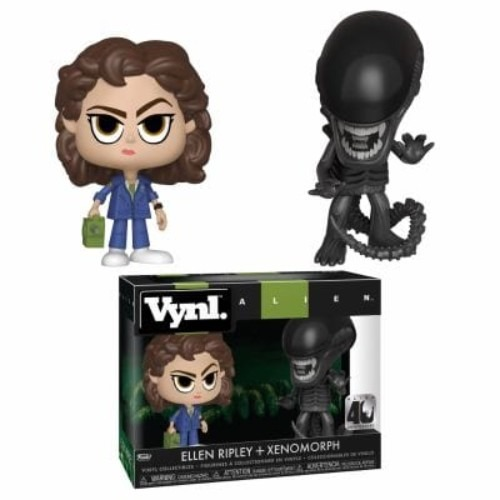 Vynl: Alien 40Th Xenomorph & Ripley W/Tracker 2 Pack ( Funko )