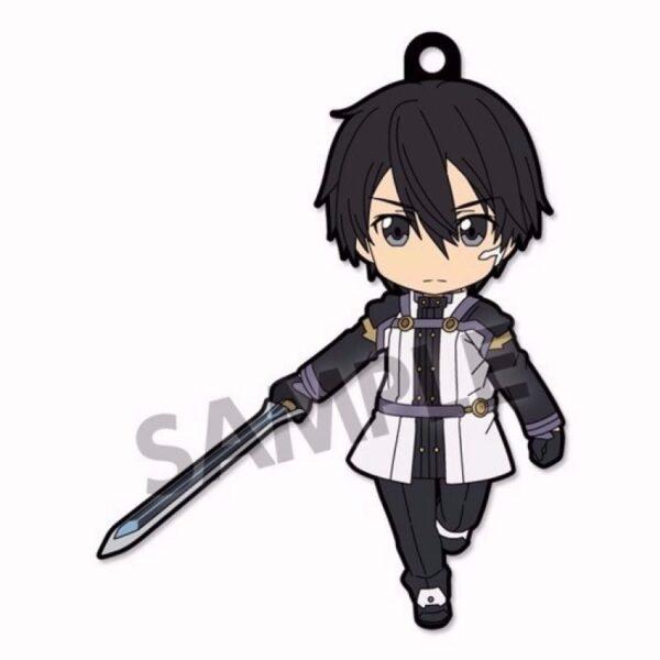 Sword Art Online Ordinal Scale rading Keychain Portachiavi Kirito ( Hobby Stock )