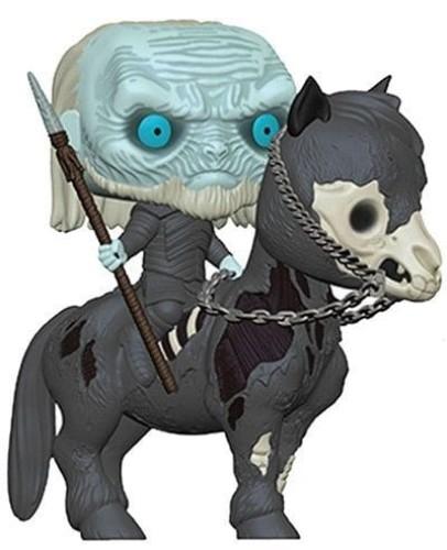 Pop! Rides: Game Of Thrones S10 White Walker On Horse ( Funko )