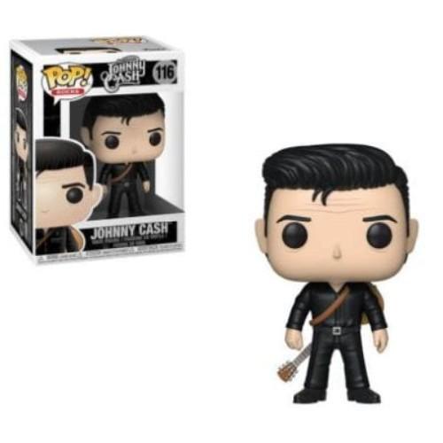Pop! Rocks: Johnny Cash Johnny Cash In Black #116 ( Funko )