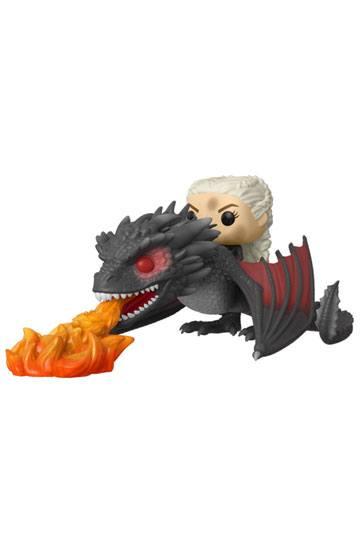 Pop! Rides: Game Of Thrones Daenerys On Fiery Drogon ( Funko )