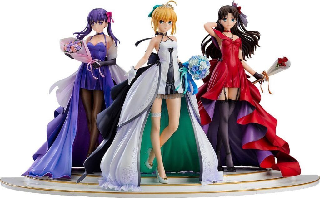 Fate/Stay Night PVC Statues 1/7 Saber